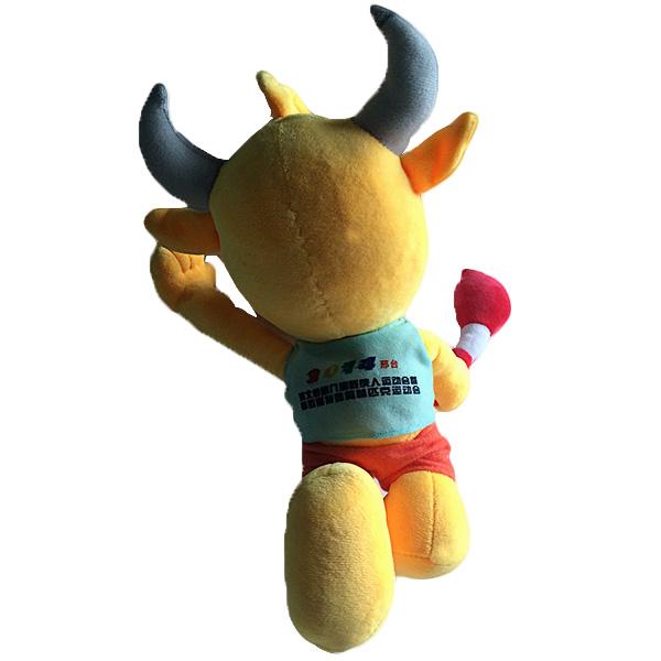 吉祥物玩具定制,毛绒娃娃