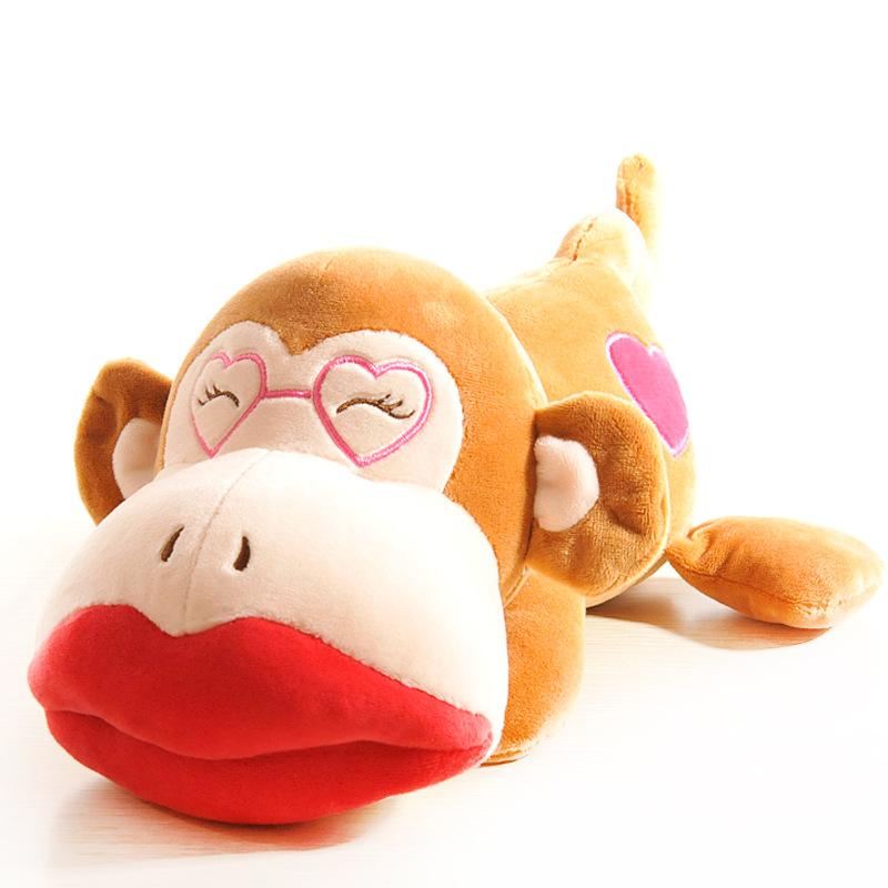 猴年吉祥物可爱条纹猴子必威体育betway777必威体育app 下载地址 可印logo 可加二维码