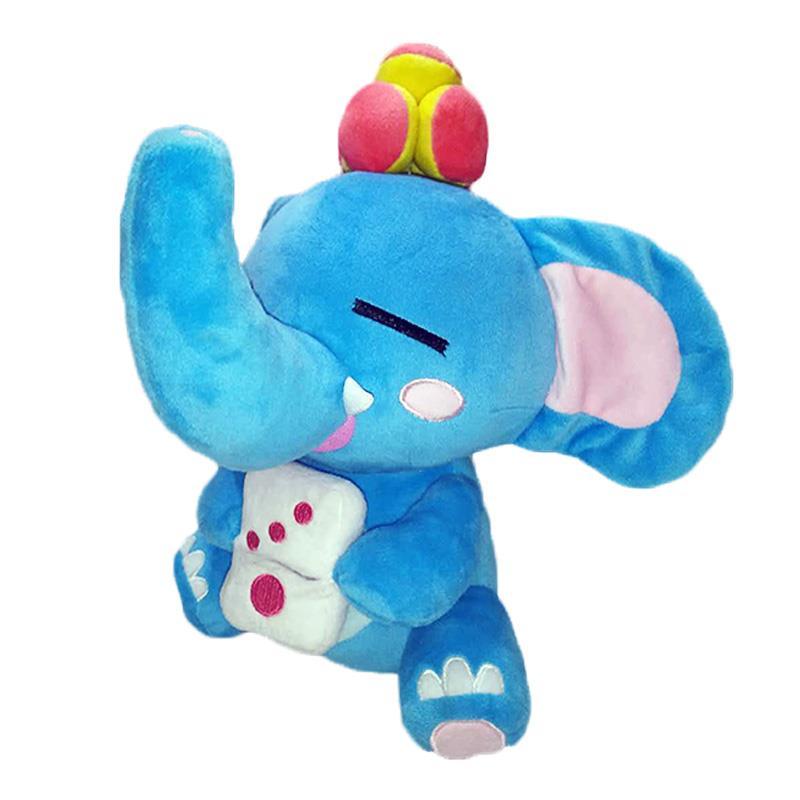 必威体育app 下载地址厂毛绒必威体育betway777定制再生超柔材料卡通动物大象玩偶